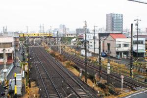 三重県桑名市にある益生駅